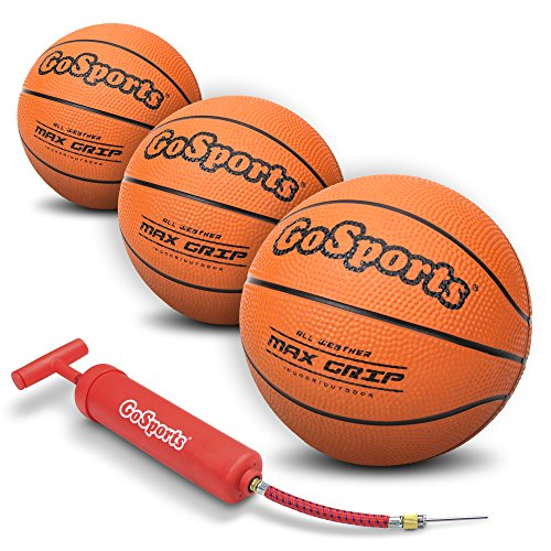 5 Inch Mini Rubber Basketball (GoSports 5