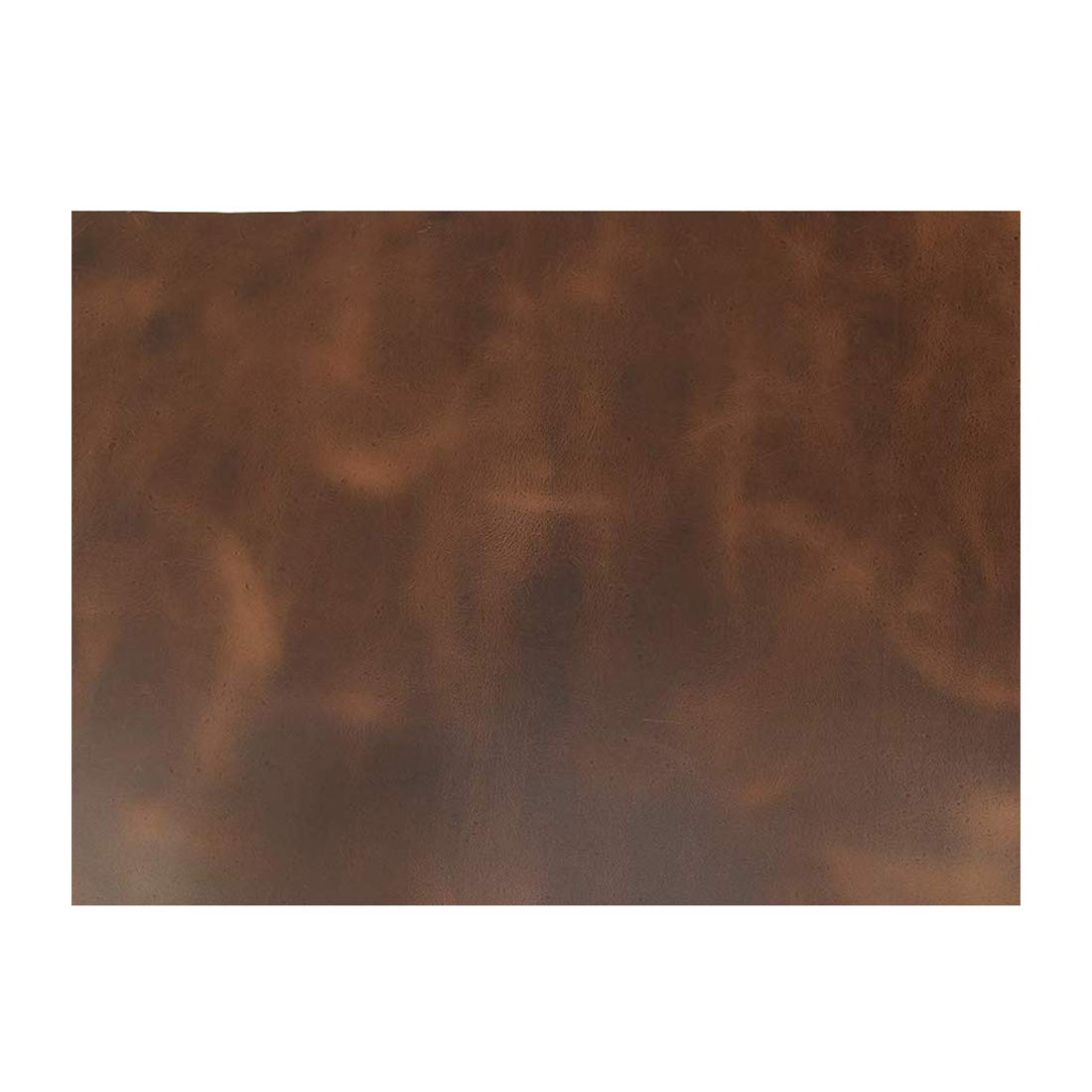 Hide & Drink, Leather Square (16 x 18 in.) for Crafts/Tooling/Hobby Workshop, Medium Weight (1.8mm) :: Bourbon Brown