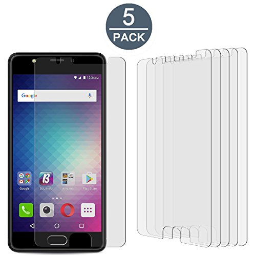 [5 Pack]BLU Life One X2 High Defintion Ultra Clear Screen Protector Film(Not Glass) For BLU Life One X2(HD Clear)