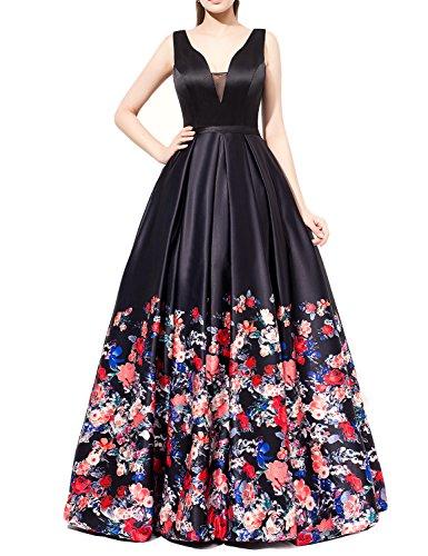 long black evening dress size 18 - 6
