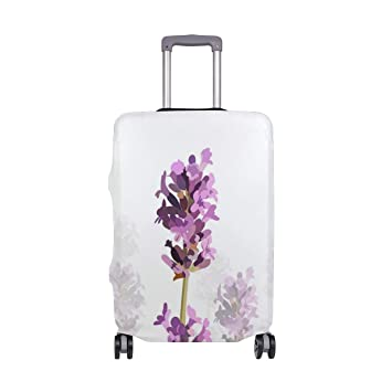 62769176d70a Amazon.com | Painting Lavender Petals Decorations Travel Carry ...
