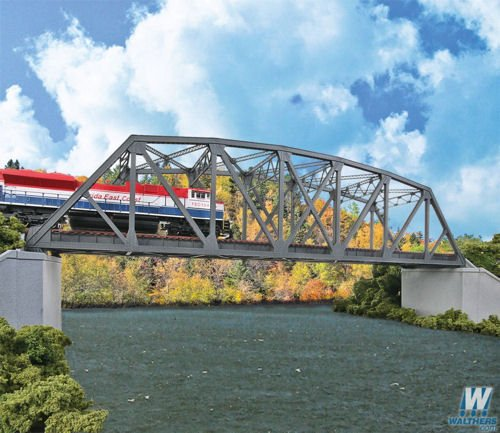 Walthers Cornerstone HO Scale Kit Arched Pratt Truss Railroad Bridge ()