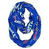 NFL Buffalo Bills Sheer Infinity Scarf, One Size, Blue