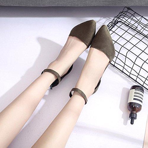 Sexy High Hiver Hauts Vert à Mariage Soirée Suédine Autumn Heel Escarpins Overdose Chaussures Femme en Talons qczFgf4W
