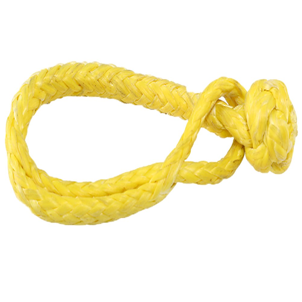 Ymiss UHMWPE 7//32 Soft Shackle for Car Winch Outdoor Activity-Yellow Color
