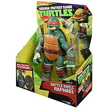 Teenage Mutant Ninja Turtles Battle Shell Raphael Action Figure 3