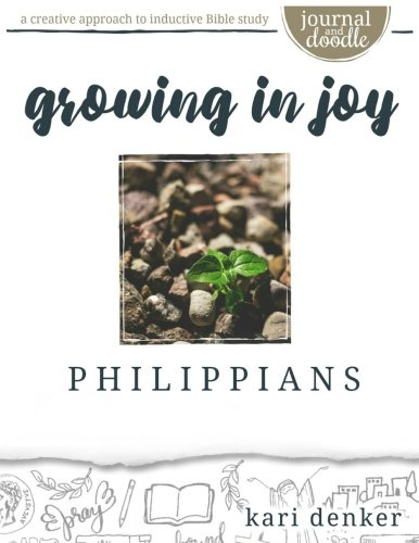 Philippians Journal and Doodle Bible Study: growing in joy cover