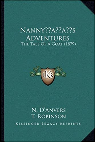 Book Nannyacentsa -A Centss Adventures: The Tale of a Goat (1879)
