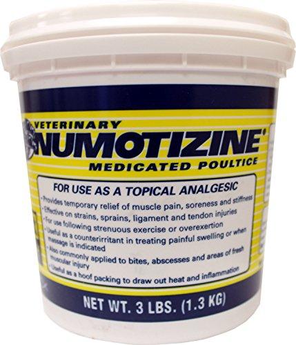 Hobart Laboratories GREG ROBERT Numotizine Poultice, 3 lb