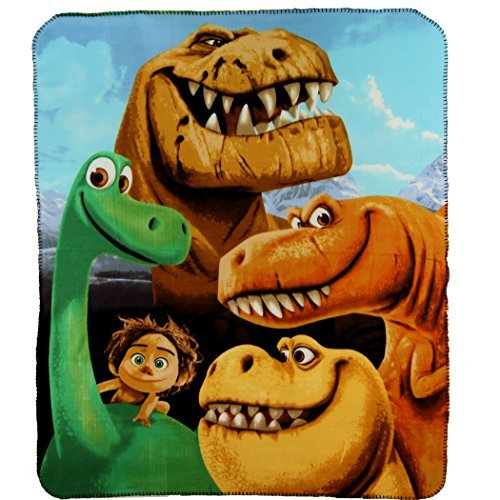 The Northwest Company The Good Dinosaur Line-Up Fleece Character Blanket 50 x 60-inches
