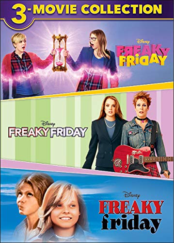 DVD : Freaky Friday 3-movie Collection (3 Pack, Dolby, AC-3, Subtitled)
