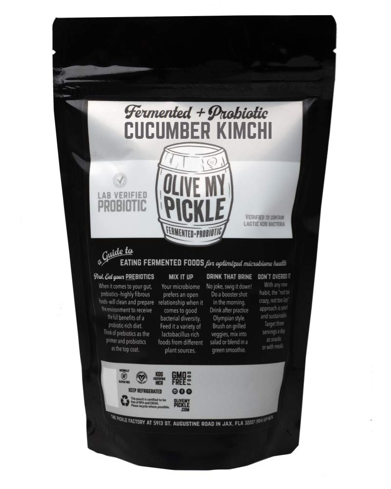 Olive My Pickle - Kimchi fermentado y probiótico para la ...