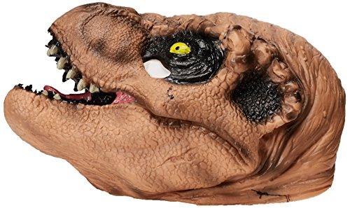 Máscara de Tiranosaurio Rex Jurassic World infantil: Amazon.es: Juguetes y juegos