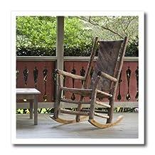 ht_89336_2 Danita Delimont - Georgia - Georgia, Pine Mountain. Rocking chair, porch - US11 JEG0167 - Julie Eggers - Iron on Heat Transfers - 6x6 Iron on Heat Transfer for White Material