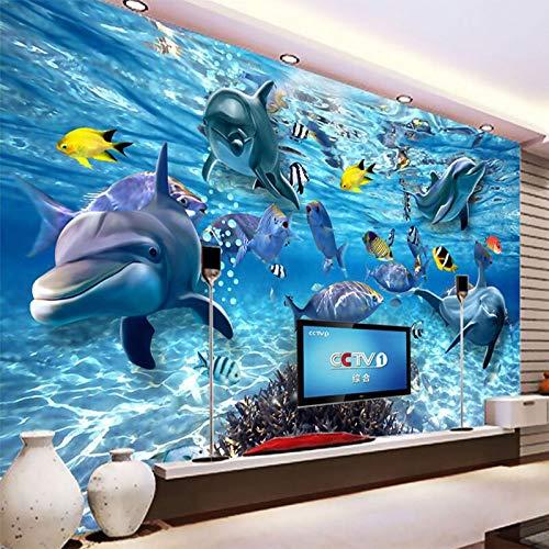 Hd Underwater World Deep Sea Fish Foto Wallpaper 3d Estéreo