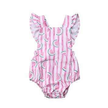 Toddler Kids Baby Girls Romper Bodysuit Jumpsuit Outfit Sunsuit Playsuit Clothes