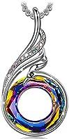 "Kate Lynn ""Nirvana Phoenix Necklace Women Made Crystals from Swarovski, Comes Elegant Jewellery Box, A symbolizing Luck Renewal"