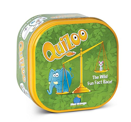 Blue Orange Games Quizoo Animal Quiz Card Game for Kids
