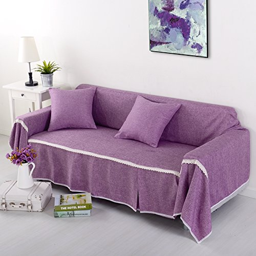 RUGAI UE Sofa Slipcover Single Double Fabric Living Room Sofa Cover All Sofa  Cloth Round