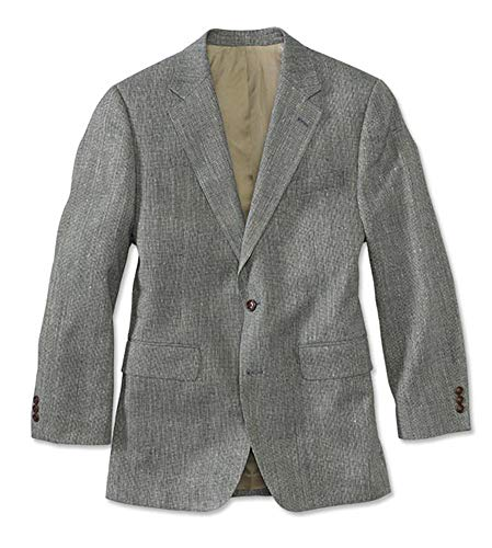 - Orvis Men's Silk Tweed Sport Coat/Long, Navy, 42