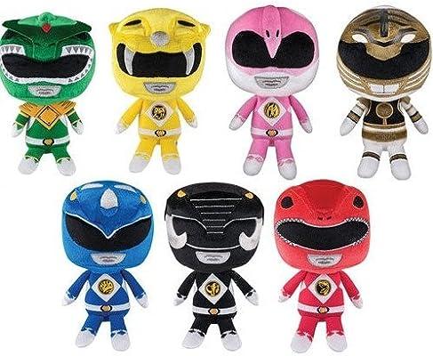 Set of 7 Mighty Morphin Power Rangers Funko Hero Plushies