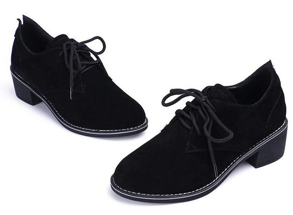Noir Hhor Chaussures Leisure Leisure Sheep Anti - Car Stitches (Couleuré   Noir, Taille   37)  grandes marques vendent pas cher