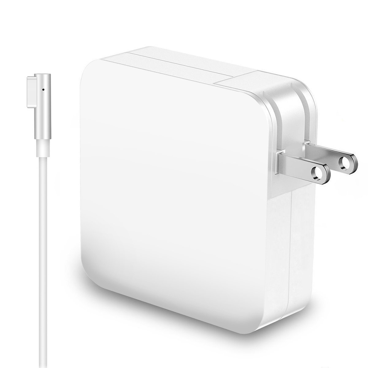 R60-L MacBook Pro Charger, MacBook Air Charger,MacBook Charger Replacement L-Tip 60W Magsafe Power Adapter for Apple MacBook Pro 13-inch, L-Shape (Before 2012)