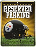 NFL Pittsburgh Steelers Hi-Res Metal Parking Sign