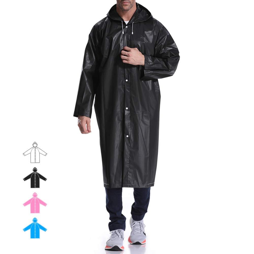 Hapshop Tragbar Wasserdicht Regenmantel, reinwear für Unisex, Perfekt für Outdoor Aktivitäten.