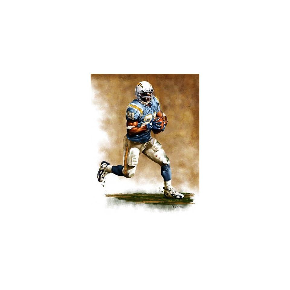 LaDainian Tomlinson #2 San Diego Chargers 11 X 14 Giclee