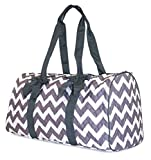 NGIL Chevron Quilted Duffle Bag (Grey) Review