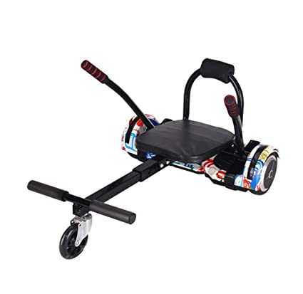 Amazon com : Lvbeis Hoverboard Go Kart Seat Adjustable