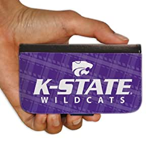 "Kansas State University ""Plaid Design"" Samsung Galaxy S3 Protective Wallet Case"