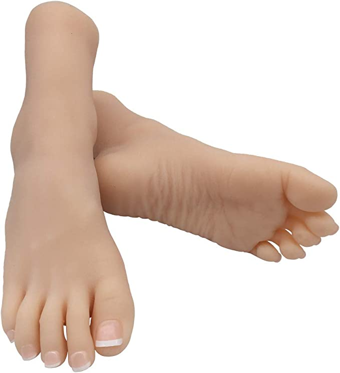 Pair of Baby Kids Child Feet Mannequin Foot Model Mannequin Mannequin Sock