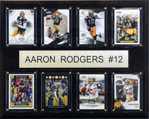 C&I Collectables NFL Green Bay Packers 8 Card Plaque