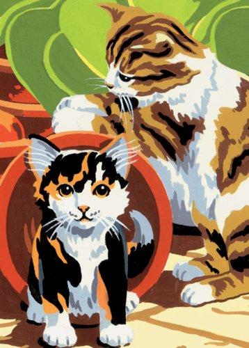 Royal & Langnickel Junior Mini Paint By Number Kit: 5x7 Kittens/Junior