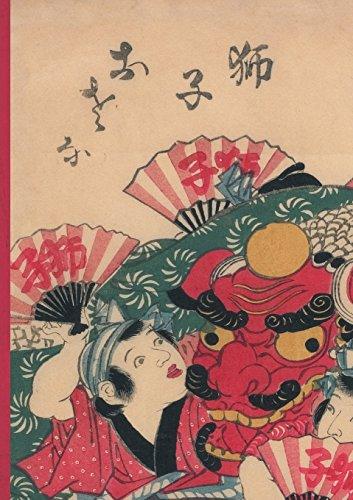 Carnet Ligne Estampe Danseurs Au Dragon, Japon 19e (Bnf Estampes)  [Sans Auteur] (Tapa Blanda)