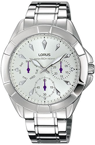Mujer Womens Analog Quartz Watch with Stainless Steel Bracelet - Lorus RP635CX9