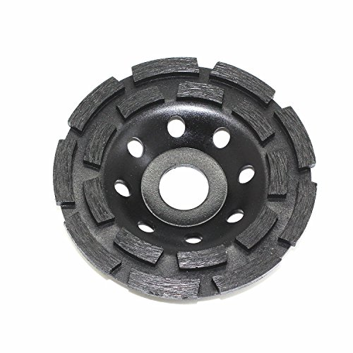 WEICHUAN 4-1/2-Inch Double Row Diamond Grinding Cup Wheel (Diamond Cup Grinding Wheel Row)