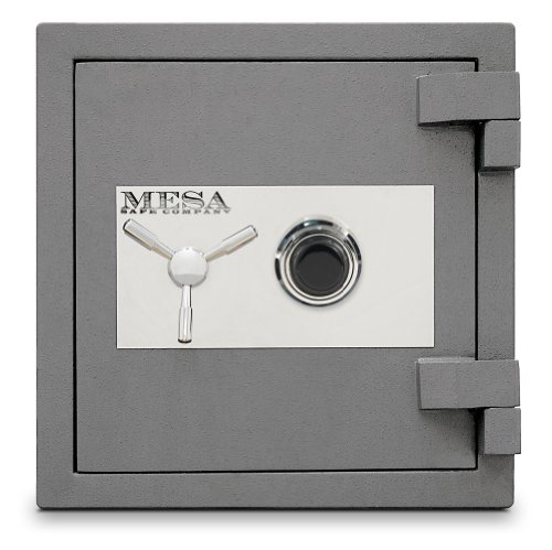 Mesa-Safe-MSC2120C-High-Security-Burglary-Fire-Safe-All-Steel-with-Combination-Lock-24-Cubic-Feet-Silver