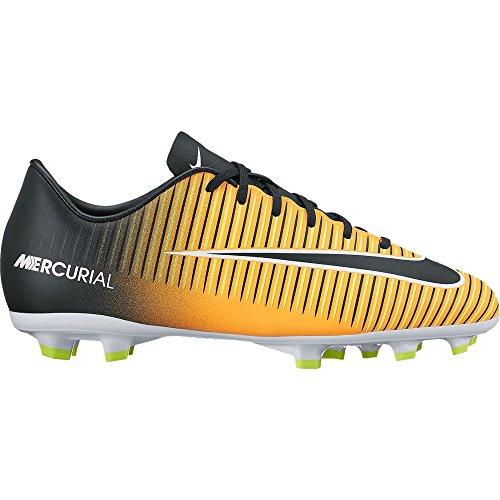 Nike Unisex-Kinder Jr. Mercurial Victory VI FG Fußballschuhe LASER ORANGE/BLACK-WHITE-V