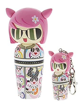 Kokeshi Valeria attinelli Bambu Coffret Mini Keyring/Eau de Toilette 50ml