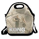 King Kong Skull Island Gourmet Getaway Lunch Tote Black