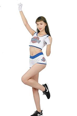 Mesky Uniforme de Animadora Falda para Chicas Cosplay de ...