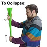Pudgy Pedro's Plastic Vuvuzela Stadium Horns
