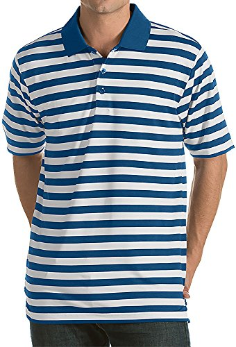 Antigua Men's Revive Golf Polo (Medium, Harbor) ()