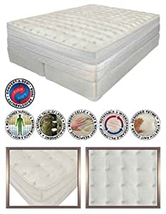 "15"" Twin XL 50 Number Adjustable Sleep Air Bed Mattress"