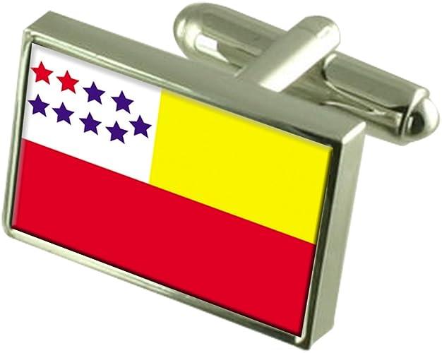 Ecuador Flag Cufflinks