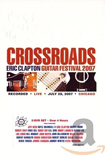 2007 Dvd Book - Crossroads: Eric Clapton Guitar Festival 2007
