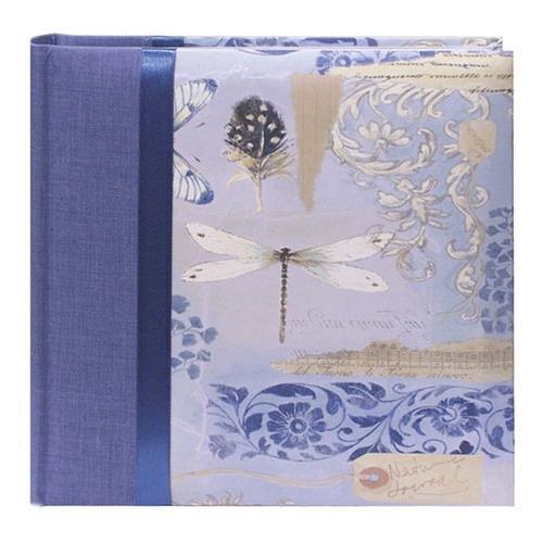 Pioneer Bella Fabric Ribbon Frame Bi-Directional Memo Frame Photo Album, Bella Fabric Covers, Holds 200 4x6